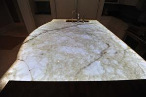 Coulson Fine Homes - Ontario Honey Onyx over LumaPex