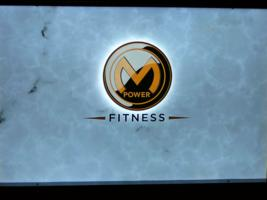 M-Power Fitness Alibaster over LumaPex with Enhanced Logo Illumination