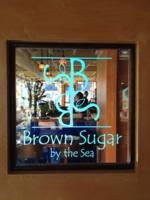 Brown Sugar by the Sea - Newburyport, Massachusetts Edge Lit Acrylic Logo