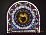 Universal Electric - New Hampshire - Faux Window - Stained Glass over LumaPex