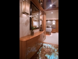 Illuminated Onyx Floor - Lazzara Yachts - Onyx over Electroluminescent Panel EL